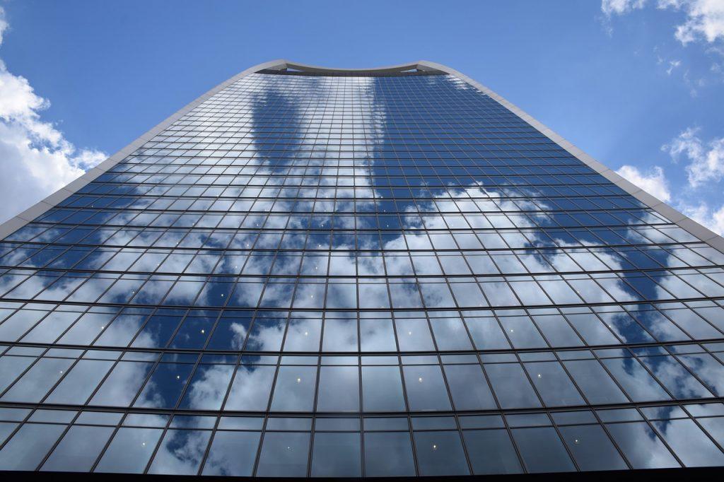 immeuble de bureaux d'entreprises
