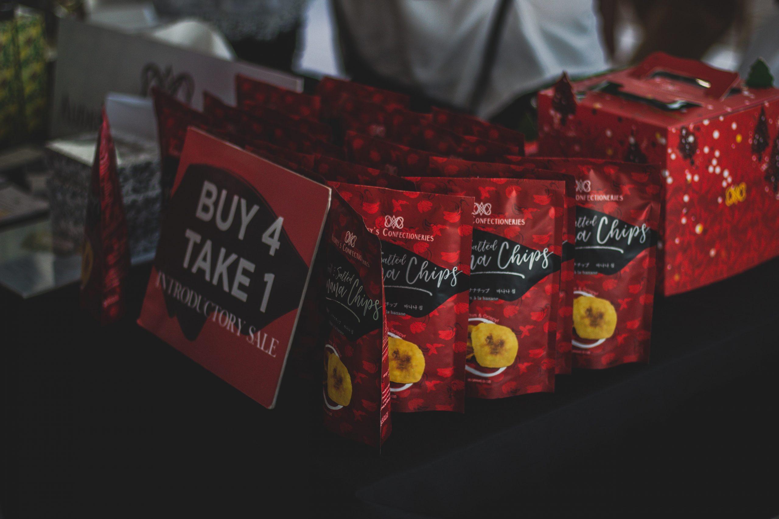 Opération marketing mise en valeur par le packaging et l'étiquetage du produit